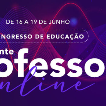 "Participe do Congresso: ""De repente, professor online"""